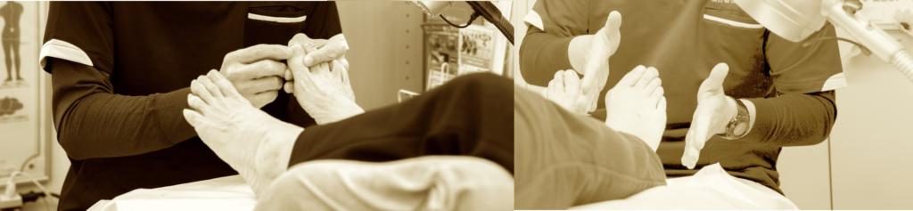 巻き爪専門の技術と手